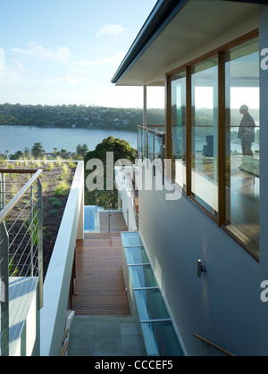 House in Manley, Sydney, Australia, by Assemblage - Peter Chivers Architect - Stock Photo