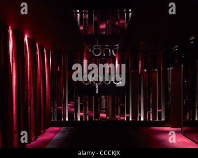 Aqua Restaraunt, London, Glamorous, 2011-reception area - Stock Photo
