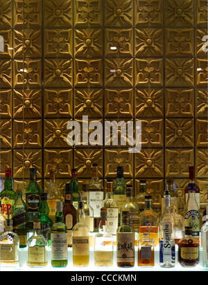 Aqua Restaraunt, London, Glamorous, 2011-bar - Stock Photo