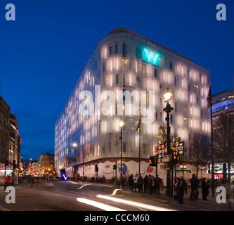 W Hotel Jestico  Whiles London United Kingdom 2011 - Stock Photo