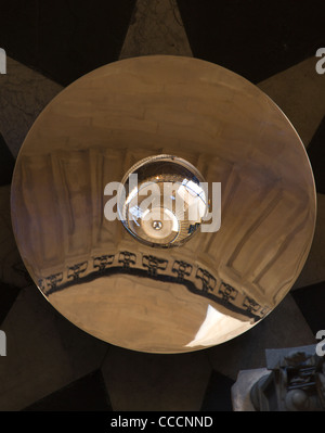 Perspectives, St Paul's Cathedral, John Pawson, London, 2011, view of mirror and lens - Stock Photo