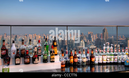 Red Sky Bar | Centara Grand | Bangkok - Stock Photo