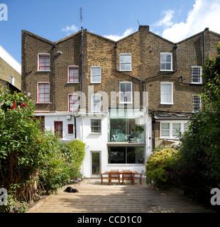 Private House - Islington, London, United Kingdom, 2010 - Stock Photo