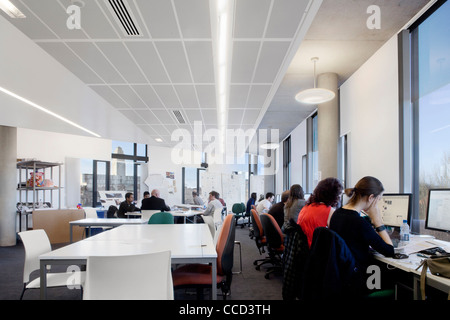 Broadcasting Place By Feilden Clegg Bradley Studios At Leeds Stock Photo Royalty Free Image