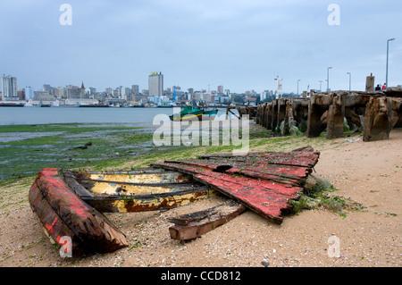 katembe bay harbour, maputo, mozambique, africa - Stock Photo