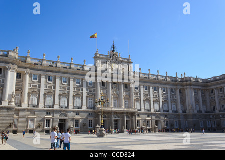 Royal Palace - Madrid - Stock Photo