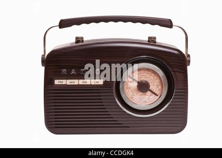Detailansicht eines alten Radios | Detail photo of a old radio