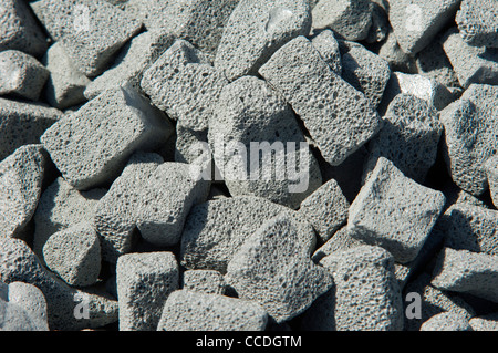 misapor insulation - Stock Photo