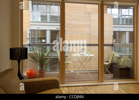 The Scheme Is A Combination Of Sales, Keyworker, Affordable And Shared Ownership Rental Apartments.  The Density - Stock Photo
