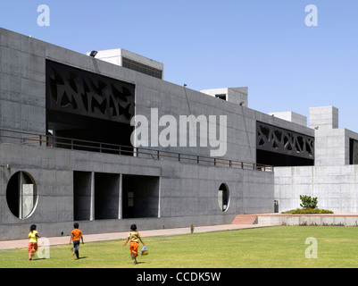 INDIAN INSTITUTE OF MANAGEMENT  AHMEDABAD INDIA - Stock Photo
