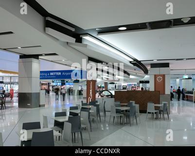 Sydney Airport Terminal 1 Departures, Woodhead Architecture Interiors Planning, Sydney, 2010 - Stock Photo