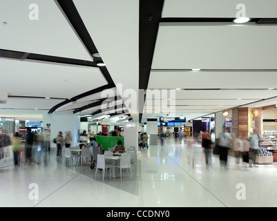Sydney Airport Terminal 1 Departures, Woodhead Architecture Interiors Planning, Sydney, 2010, dining area - Stock Photo