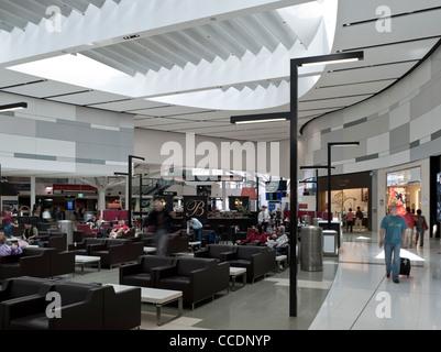 Sydney International Airport Terminal 1, Sydney, Australia, Woodhead Architecture Interiors Planning, 2010 - Stock Photo