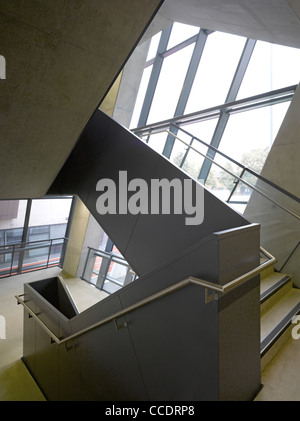 EVELYN GRACE ACADEMY, BRIXTON, ZAHA HADID ARCHITECTS-STAIR - Stock Photo
