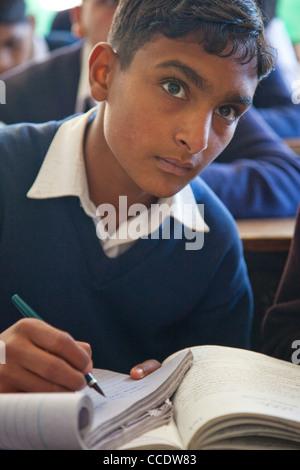 Government High School in Murree, Punjab Province, Pakistan - Stock Photo