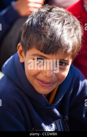 Student in a Government School in Murree, Punjab Province, Pakistan - Stock Photo