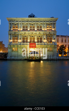 Casino di venezia, Grand Canal, Venice, Adriatic Sea, Italy - Stock Photo