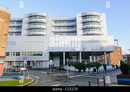 Royal Victoria Hospital, Belfast - Stock Photo