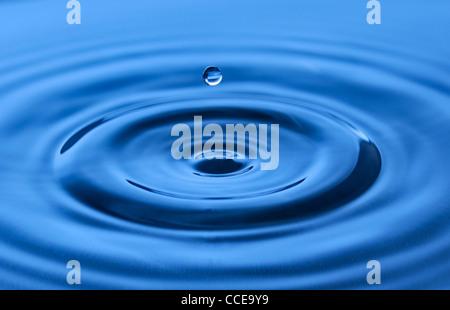 Drop of water. - Stock Photo