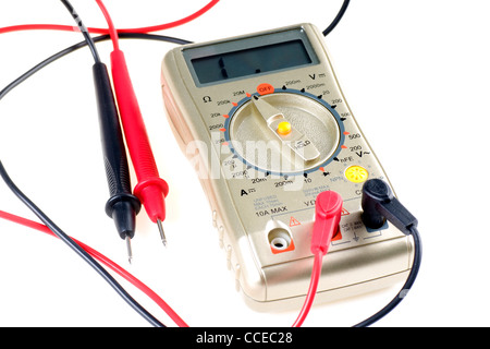 Universal electric meter - Stock Photo