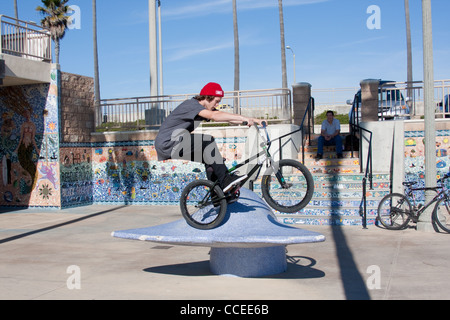 Bicycle Tricks - Stock Photo