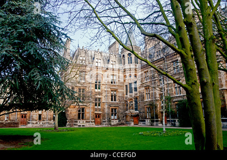 Gonville and Caius College in Cambridge - Stock Photo