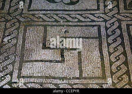 Herculaneum, 'casa dell'atrio a mosaico', ( house of the mosaic-atrium), detail. - Stock Photo