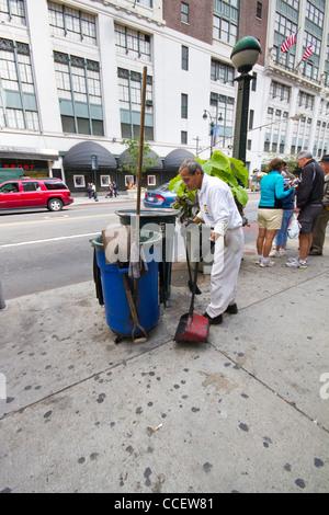 New York Sidewalk Cafe Th Street