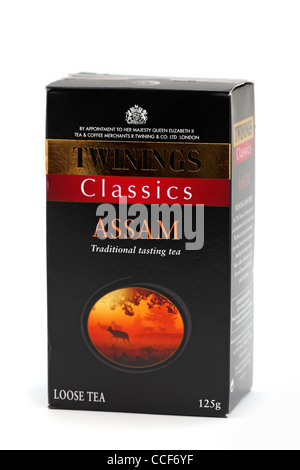 classics Assam tea - Stock Photo