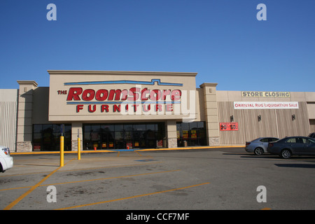 The Roomstore Furniture Store Closing Sale   Tyler  TX   January 2012    Stock Photo. The Roomstore Furniture Store Closing Sale   Tyler  TX   January