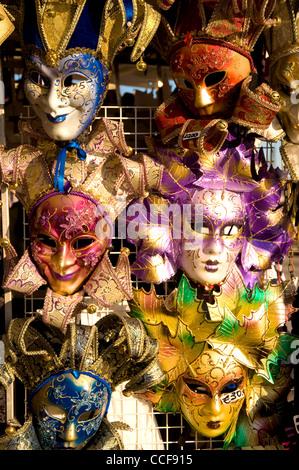 Carnival Masks, Venice, Italy - Stock Photo