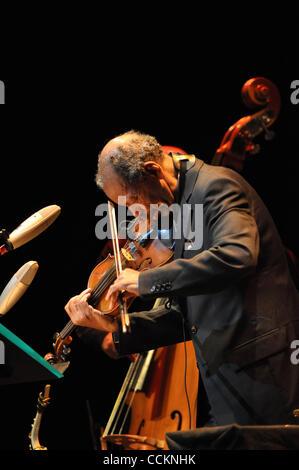 Nov. 18, 2010 - Austin, Texas, U.S. - Ornette Coleman live at Bass Hall  in Austin TX on 11/18/2010 with Tony Falanga - Stock Photo