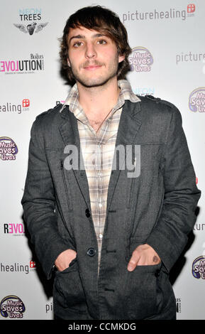 Oct. 27, 2010 -  Drummer SOTIRIS ELIOPOULOS arrives at a charity masquerade ball benefiting Music Saves LIves at - Stock Photo