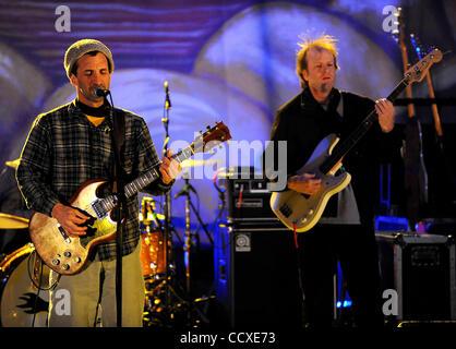 Mar 5, 2010 - Wilmington, North Carolina; USA -Singer / Guitarist DAVID BARBE & The Quick Hooks performs live as - Stock Photo