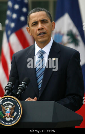 Mar. 10, 2010 - Washington, D.C, USA - March 10th, 2010 - Washington, District of Columbia, USA - President BARACK - Stock Photo
