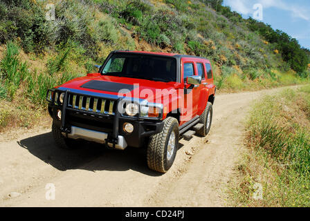 2008 hummer h3 alpha in red drivers side profile stock. Black Bedroom Furniture Sets. Home Design Ideas