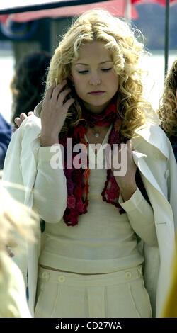 Apr. 25, 2003 - New York, New York, U.S. - K30237JKRON   .RAISING HELEN MOVIE SET, .BATTERY PARK,NEW YORK New York - Stock Photo