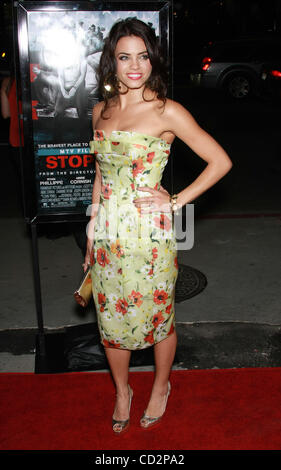 Mar 17, 2008 - West Hollywood, California, USA - Actress JENNA DEWAN arriving at the 'Stop-Loss' Los Angeles Premiere - Stock Photo