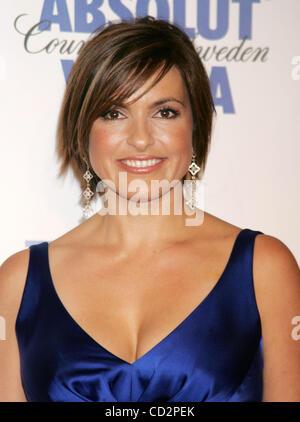 Mar 17, 2008 - New York, NY, USA -Actress MARISKA HARGITAY at the arrivals for the 19th Annual GLAAD Media Awards - Stock Photo