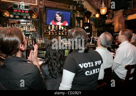 Mar 18, 2008 - San Diego, California, USA - At  The Field Pub in San Diego's Gaslamp District Carly Smithson is - Stock Photo