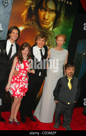 May 7, 2008 - New York, New York, U.S. - K58177ML.WORLD PREMIERE OF ''THE CHRONICLES OF NARNIA-PRINCE CASPIAN''. - Stock Photo