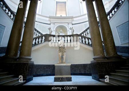 May 29, 2008 - Naples, Italy - The Naples National Archaeological Museum (Museo Archeologico Nazionale di Napoli) - Stock Photo