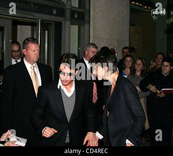 Oct. 20, 2008 - New York, New York, U.S. - CELEBRITY LADEN PRIVATE PARTY AT HERMES.MADISON AVENUE    10-20-2008. - Stock Photo