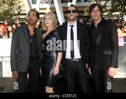 Jun 24, 2010 - Los Angeles, California, U.S. - METRIC arriving to the 'Twilight Saga Eclipse' Los Angeles Premiere - Stock Photo