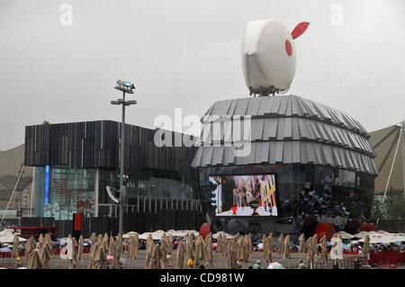 Jun 25, 2010 - Shanghai, China - Hong-Kong pavilion at the World Expo 2010 in Shanghai. (Credit Image: © PhotoXpress/ZUMApress.com) - Stock Photo