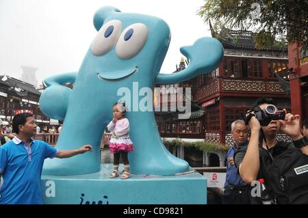 Jun 25, 2010 - Shanghai, China - Mascot of the World Expo 2010 in Shanghai. (Credit Image: © PhotoXpress/ZUMApress.com) - Stock Photo