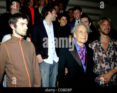 Jan. 1, 2011 - New York, New York, U.S. - K33504BCO.50TH ANNIVERSARY FOR MERCE CUNNINGHAM. .PRESENTED BY SPLIT SIDES: - Stock Photo