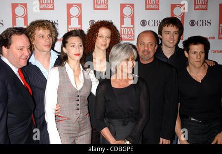 SD05142003        .2003 TONY AWARD NOMINATIONS LUNCHEON AT THE MARRIOTT HOTEL, NEW YORK New York.    /   K30657AR..BILLY - Stock Photo