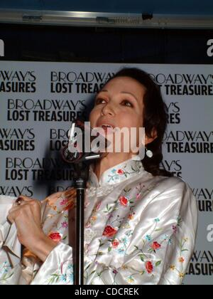K32123ML.BROADWAY COMMUNITY LAUNCH PARTY FOR THE BROADWAY'S LOST TREASURES   PLANET HOLLYWOOD, NEW YORK New York. - Stock Photo