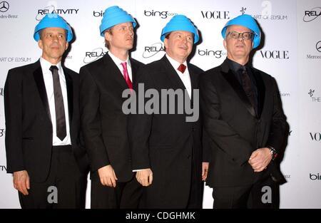 Jan. 15, 2011 - Hollywood, California, U.S. - DEVO.The 2011 Art Of Elysium ''Heaven'' Gala Held At The California - Stock Photo